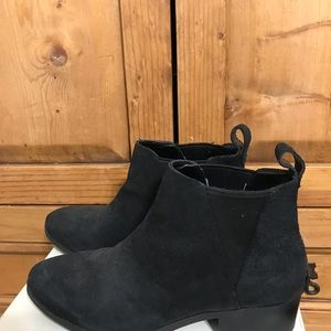 Sole Society Suede Bootie
